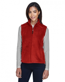 Promotional products: JOURNEY CORE 365TM LADIES' FLEECE VESTS