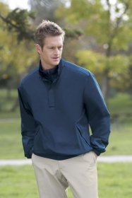 Promotional products: MEN'S LIGHTWEIGHT DOUBLE COLLAR WINDSHIRT