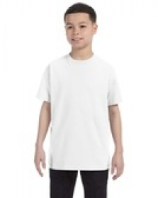 Promotional products: Gildan Heavy Cotton™ Youth 8.9 oz. T-Shirt (5000B) White-Natural