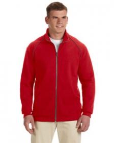 Promotional products: Premium Cotton™ 9 oz. Ringspun Fleece Full-Zip Jacket