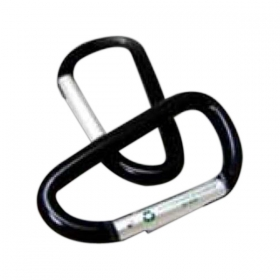Promotional products: Recycled aluminum carabiner