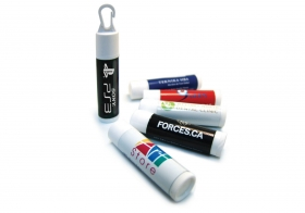 Promotional products:  Lip Balm W/ 3 Day Delivery Service