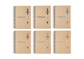 Promotional products: Ecologist Notebook Combo