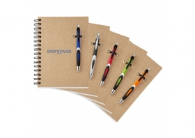 Promotional products: Helix-eco Notebook Combo