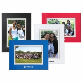 "Promotional products: Bella 4"" x 6"" photo frame"