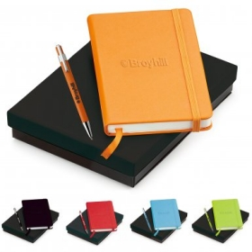 Promotional products: Tempest & Neoskin® Pen & Journal Gift Set