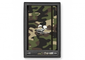 Promotional products: Soft Touch/camouflage 2-piece Gift Set