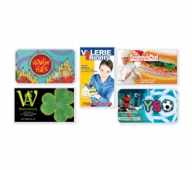 Promotional products: 2 x 3 1/2 business cards - 4-colour process