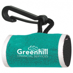 Promotional products: Neoprene Lip Balm Sleeve with Clip