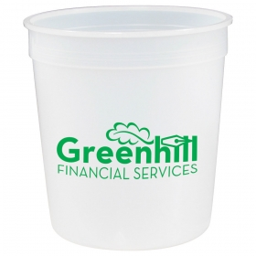 Promotional products: Solid 8oz Stadium Cup