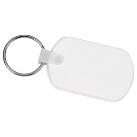 Promotional products: Rectangular Soft Key Tag