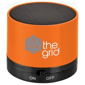 Promotional products: Cylinder Bluetooth Speaker