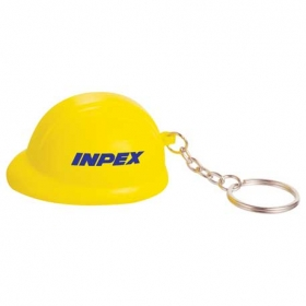 Promotional products: Hard Hat Keychain