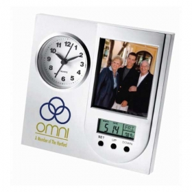 Promotional products: The Excelsior Photo Clock