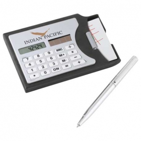 Promotional products: Calculator / Business Card Holder