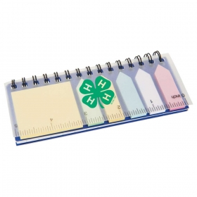 Promotional products: Spiral Sticky Memo Pad