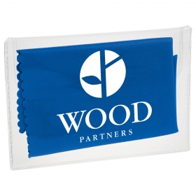 Promotional products: Microfiber Cleaning Cloth In Case
