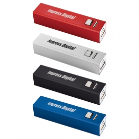 Promotional products: Ul Listed Volt 1,900 Mah Power Bank