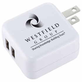 Promotional products: UL Certified Dual OUtput AC Adaptor