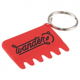 Promotional products: Silicone Keyboard Brush Key Ring