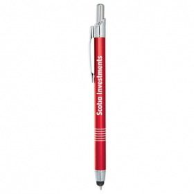 Promotional products: Babel Metal Ballpoint Pen-stylus