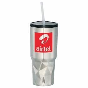 Promotional products: Geo 20oz Travel Insulated Tumbler