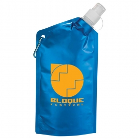 Promotional products: Cabo 20-oz. Water Bag with Carabiner