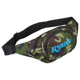 Promotional products: Camo Hunt Fanny Pack