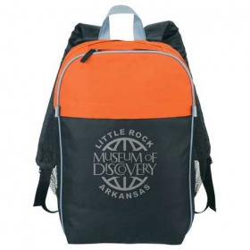 """Promotional products: Color Top 15"""" Computer Backpack"""