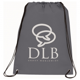 Promotional products: Champion Heat Seal Drawstring Bag