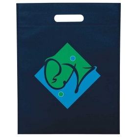 Promotional products: Large Freedom Heat Seal Non-Woven Tote
