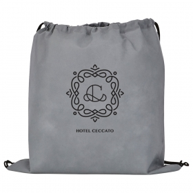 Promotional products: Evergreen Non-woven Drawstring Bag