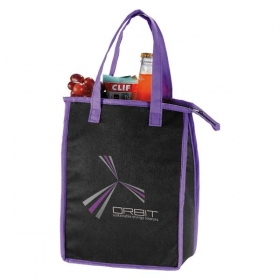 Promotional products: Zip Top Lunch Bag