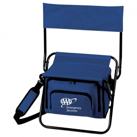 Promotional products: Folding Insulated Cooler Chair