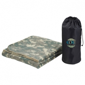 Promotional products: Wellington Blanket with Pouch