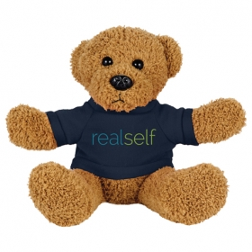 "Promotional products: 6"" Plush Rag Bear With Shirt"