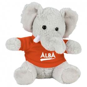 "Promotional products: 6"" Plush Elephant with Shirt"