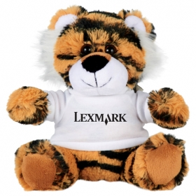 "Promotional products: 6"" Tiger Plush Animal With Shirt"