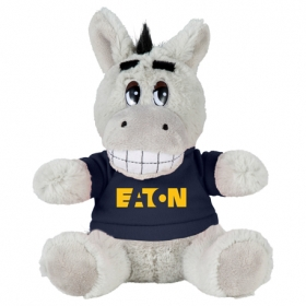 "Promotional products: 6"" Plush Donkey With Shirt"