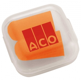 Promotional products: Earplugs In Case