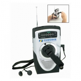 Promotional products: Dual-Powered AM/FM Weather Band Radio