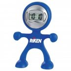 Promotional products: The Flex Man Digital Clock