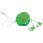 Promotional products: Round Up Earbuds