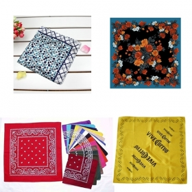 Promotional products: Rotary Printed Bandanas (retail Quality)