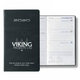 Promotional products: Bilingual Sydney Pocket Upright Weekly