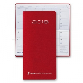 Promotional products: English Matra Pocket Horizontal Monthly