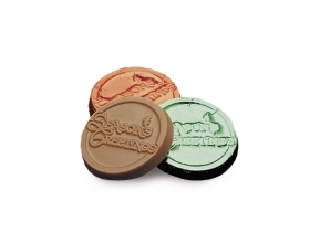 Promotional products: Season's greetings coins