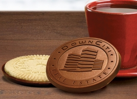 Promotional products: Custom Chocolate Sugar Cookies