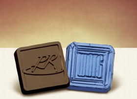 Promotional products: Custom Foiled Chocolate Squares