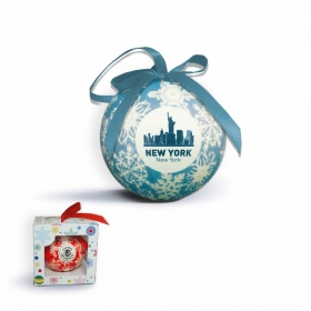 Promotional products: Shatterproof ball ornament  with gift boxes